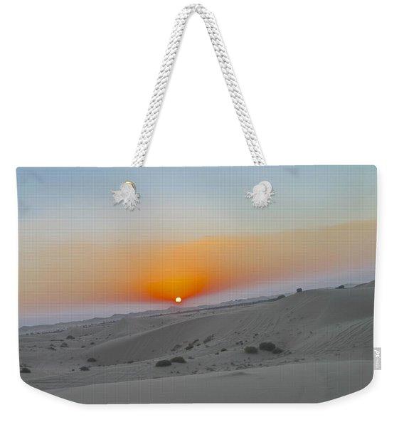 Al Ain Desert 12 Weekender Tote Bag