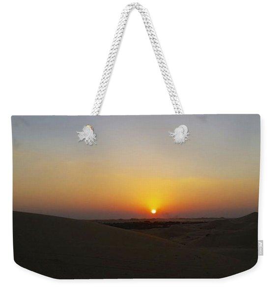 Al Ain Desert 15 Weekender Tote Bag