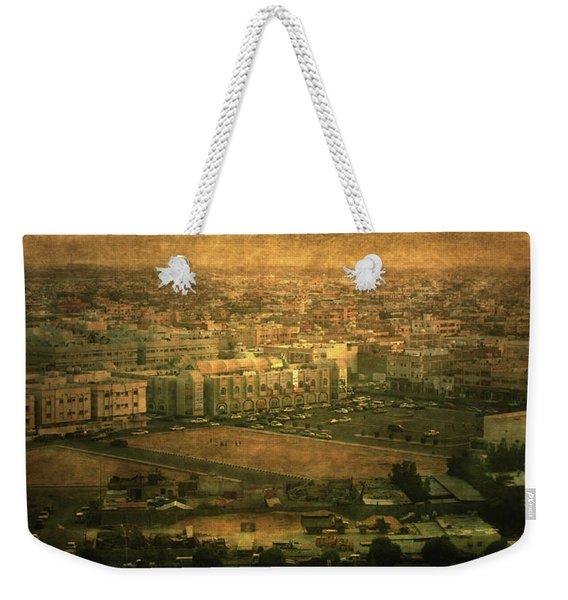 Al-khobar On Texture Weekender Tote Bag