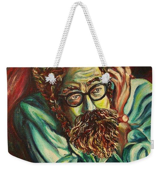 Alan Ginsberg Poet Philosopher Weekender Tote Bag
