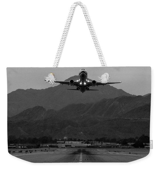 Alaska Airlines Palm Springs Takeoff Weekender Tote Bag