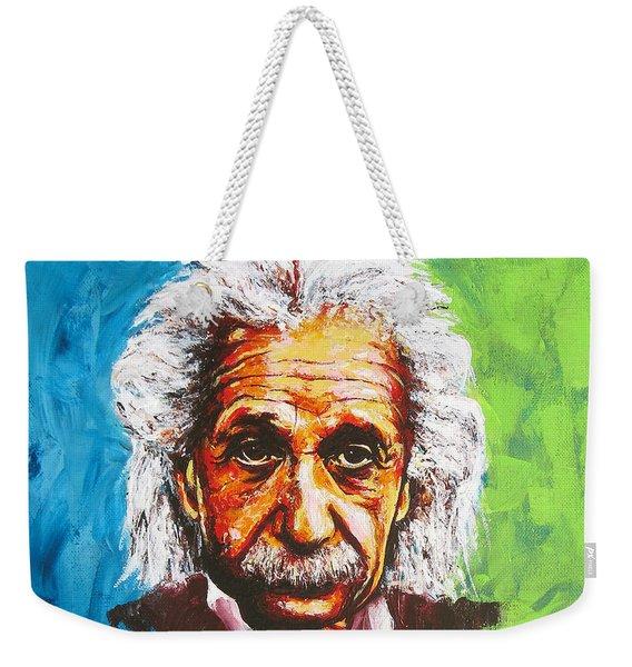 Albert Tribute Weekender Tote Bag
