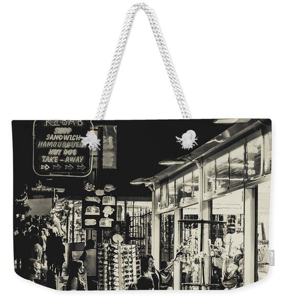Albufeira Street Series - Tattoo Weekender Tote Bag