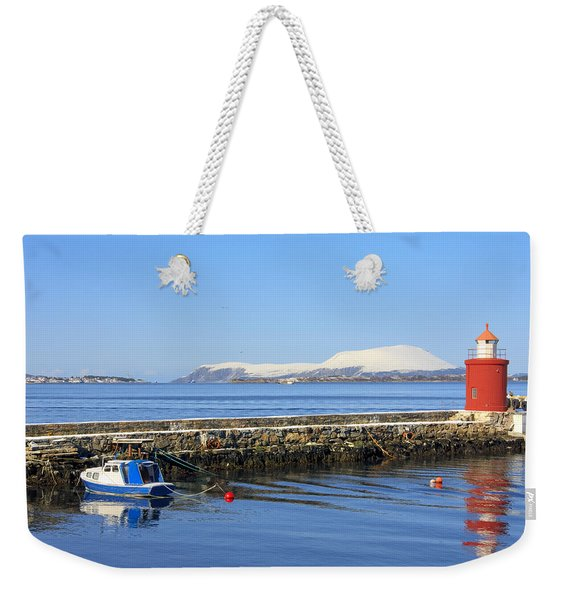 Alesund Lighthouse Weekender Tote Bag