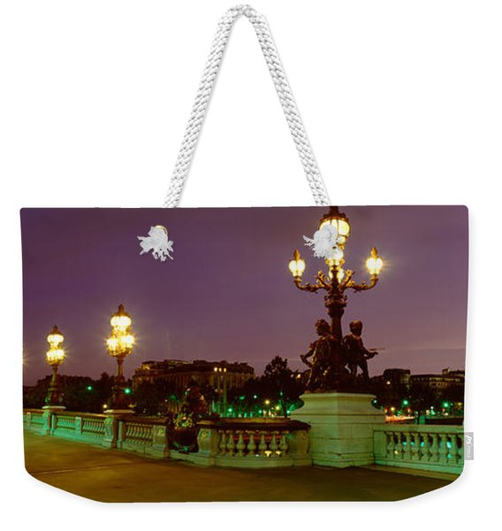 Alexander IIi Bridge, Paris, France Weekender Tote Bag