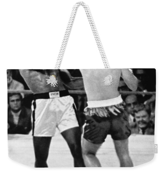 Ali-quarry Fight Weekender Tote Bag