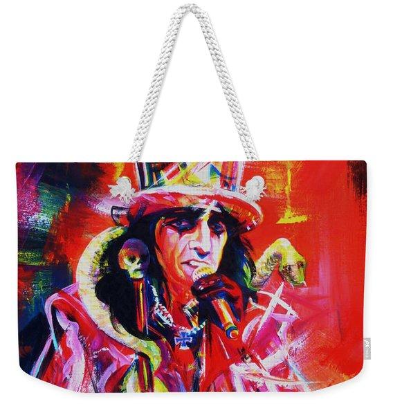 Alice Cooper. The Legend Weekender Tote Bag
