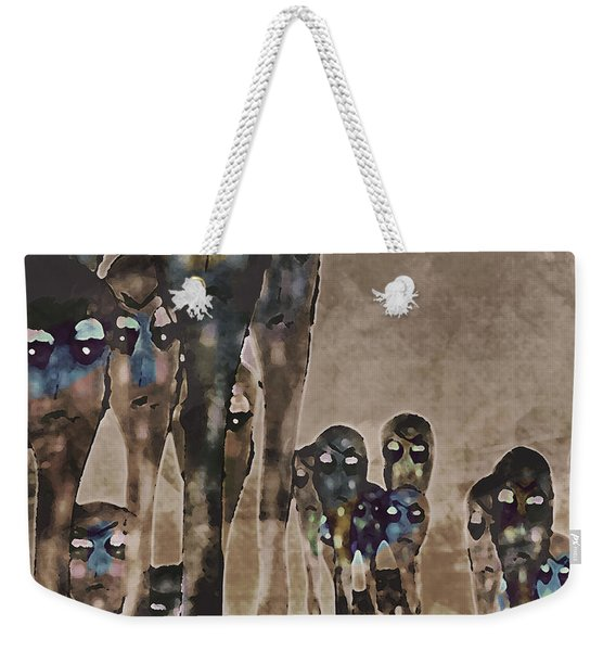 Alien Harvest Weekender Tote Bag