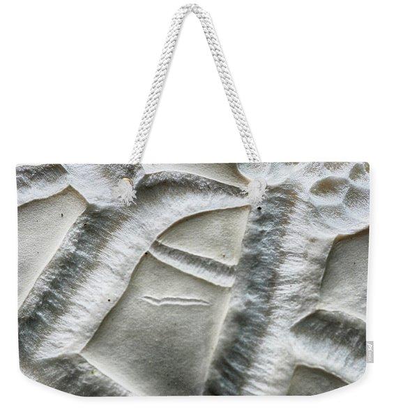 Alien Surface Weekender Tote Bag
