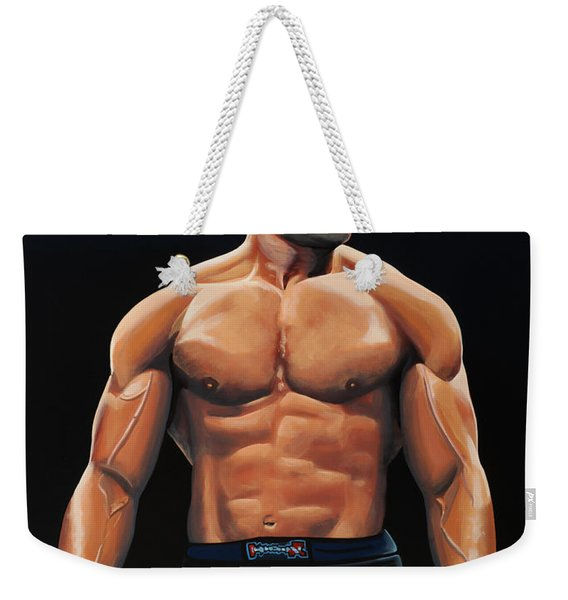 Alistair Overeem Weekender Tote Bag