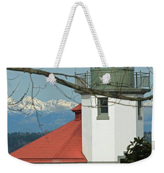 Alki Lighthouse II Weekender Tote Bag