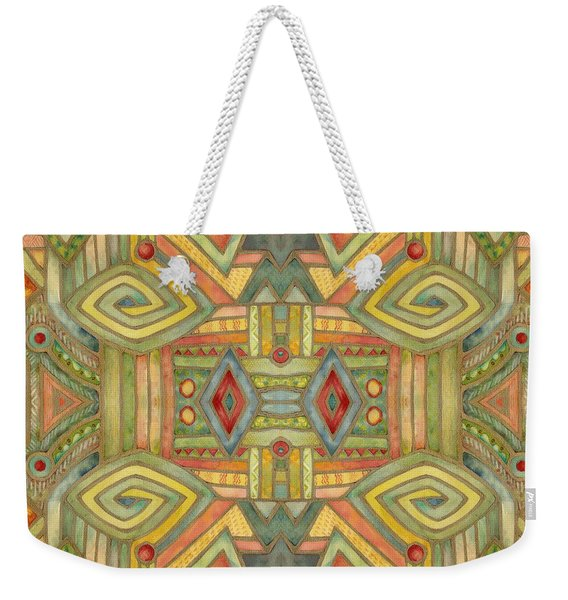 All About E Weekender Tote Bag