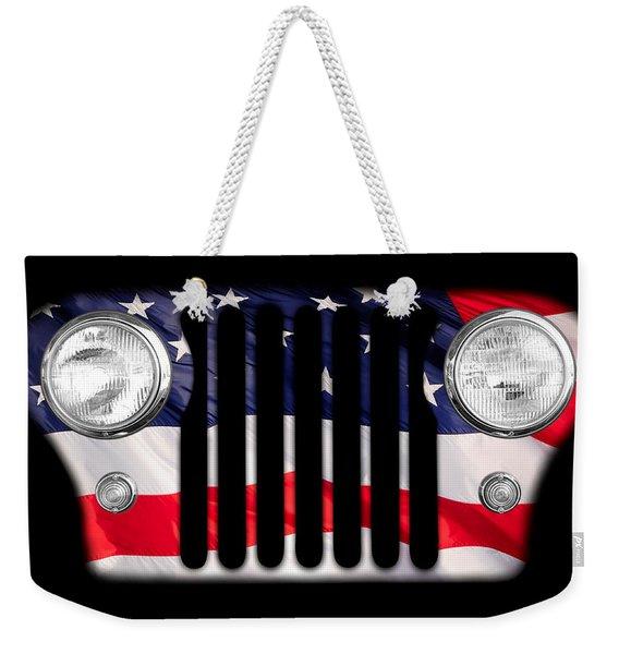 All-american Weekender Tote Bag