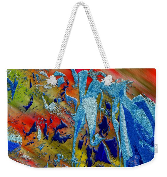 All Dat Jazz Weekender Tote Bag