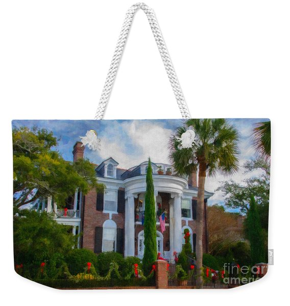 All Decorated Up For Christmas Weekender Tote Bag
