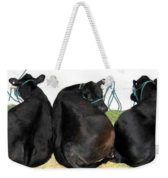 All Eyes Front Weekender Tote Bag