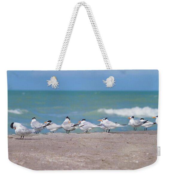 All In A Row Weekender Tote Bag