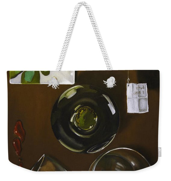 All Looked Fine From Our Perspective Weekender Tote Bag