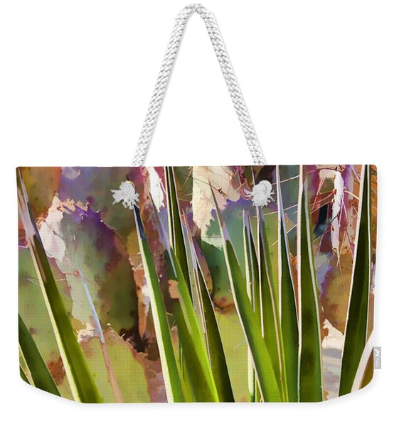 All Pointy And Sharp Weekender Tote Bag