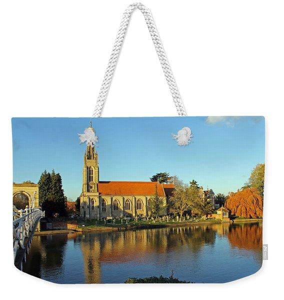 All Saints Church Marlow Weekender Tote Bag