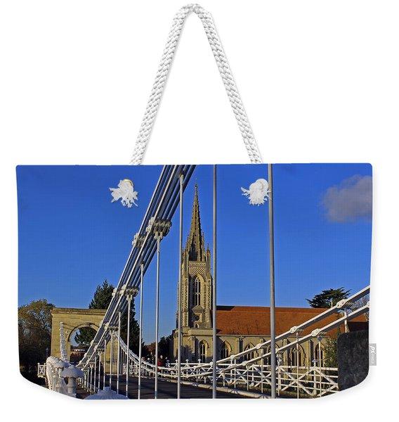 All Saints Church Weekender Tote Bag