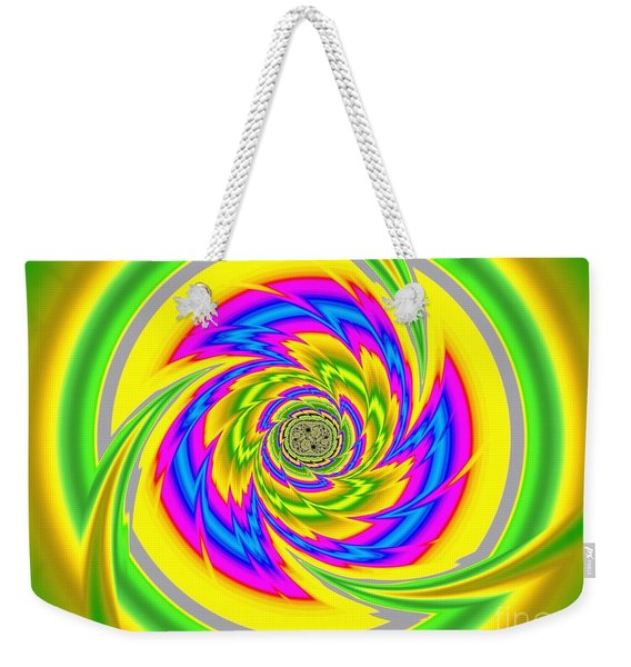 All The Colours Weekender Tote Bag