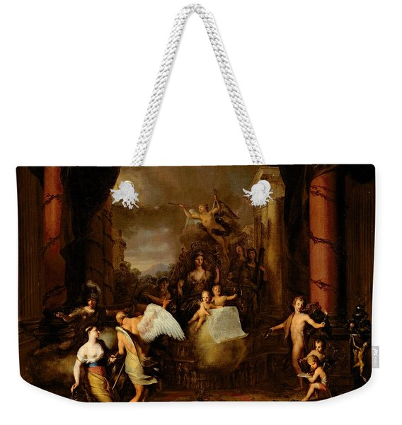 Allegory Of The City Of Amsterdam Weekender Tote Bag