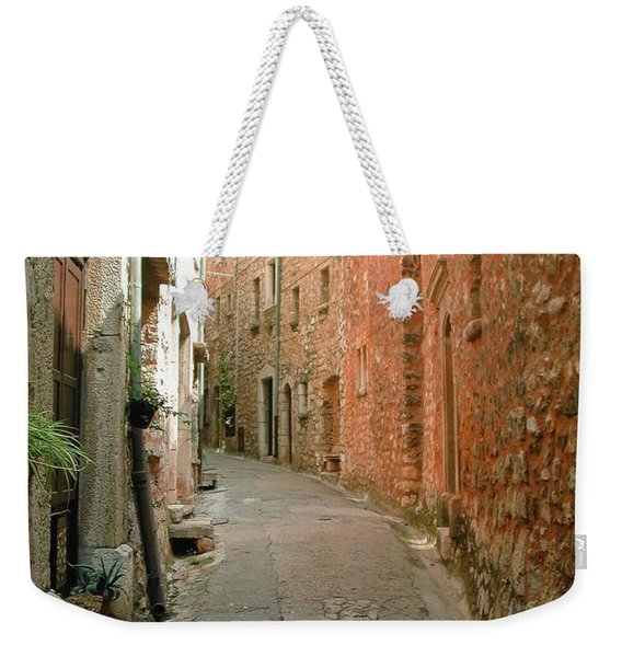 Alley In Tourrette-sur-loup Weekender Tote Bag