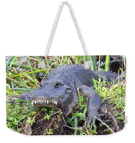 Alligator Overbite Weekender Tote Bag