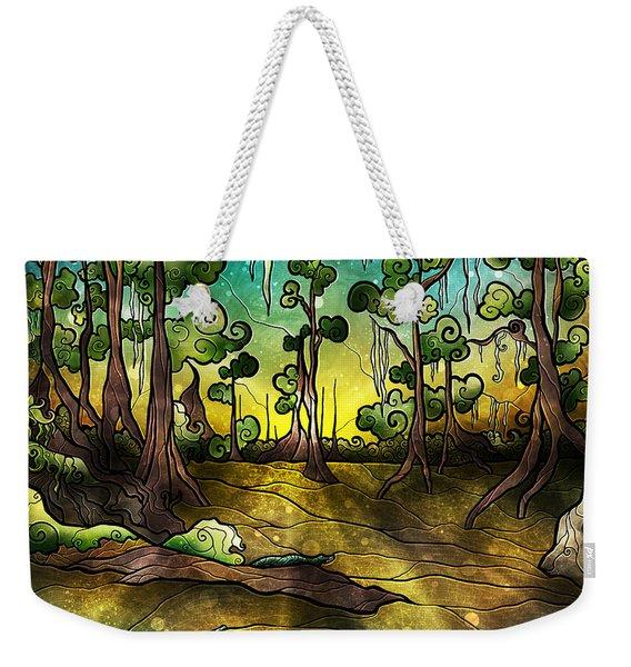 Alligator Swamp Weekender Tote Bag
