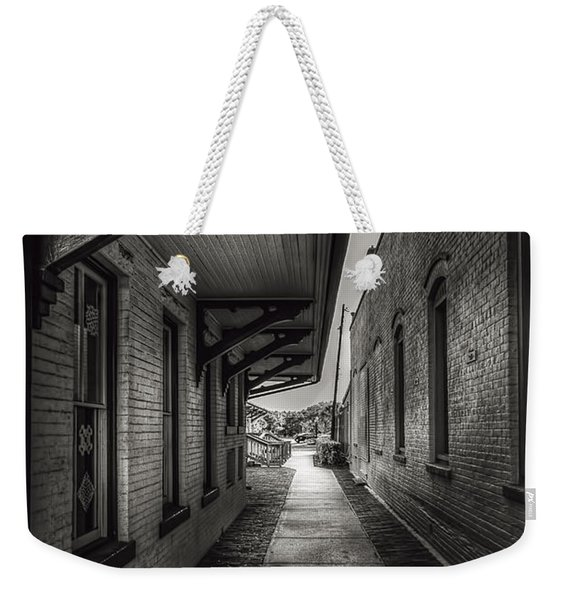 Alley To The Trains Weekender Tote Bag