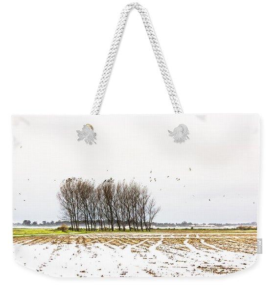Almost Winter Weekender Tote Bag