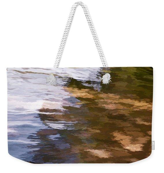 Along The Shore Weekender Tote Bag