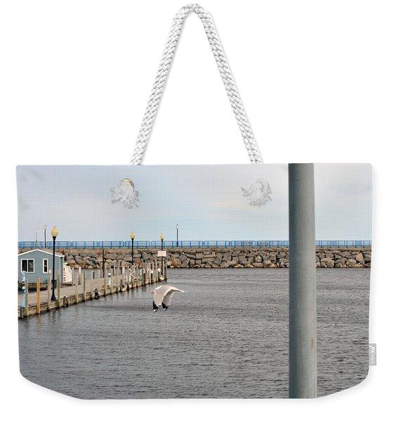 Alpena Harbor Weekender Tote Bag