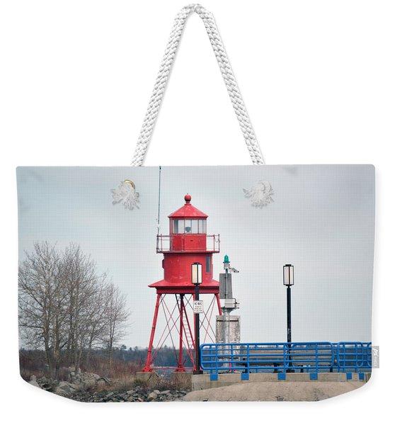 Alpena Lighthouse Weekender Tote Bag
