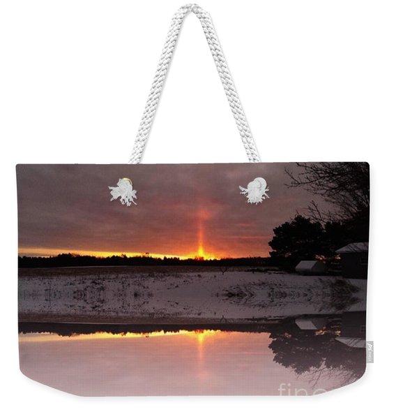Alpena Sunrise Weekender Tote Bag