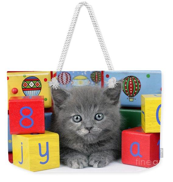 Alphabet Cat Ck415 Weekender Tote Bag
