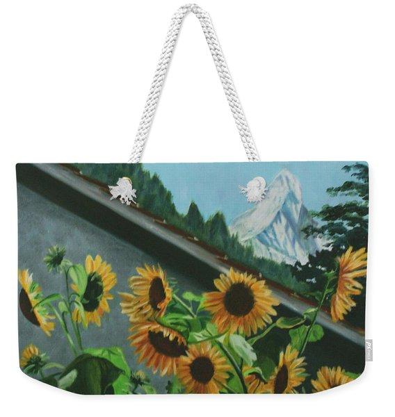 Alpine Delight Weekender Tote Bag