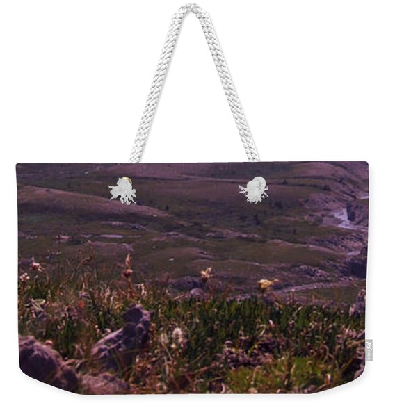 Alpine Floral Meadow Weekender Tote Bag