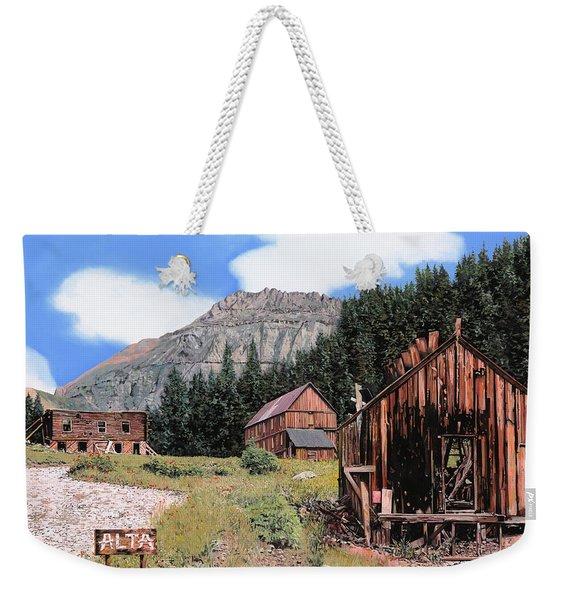 Alta In Colorado Weekender Tote Bag
