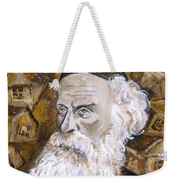 Alter Rebbe Weekender Tote Bag