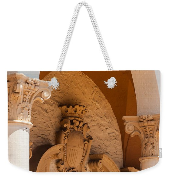 Alto Relievo Coat Of Arms Weekender Tote Bag
