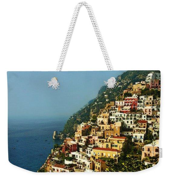 Positano Impression Weekender Tote Bag