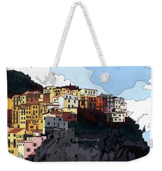 Manarola W/hidden Pictures Weekender Tote Bag