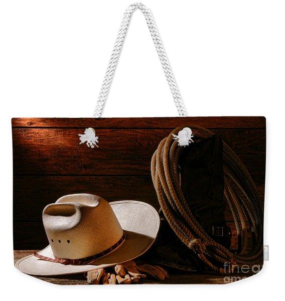 Amarillo By Morning Weekender Tote Bag