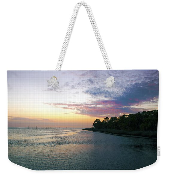 Amazing View Weekender Tote Bag