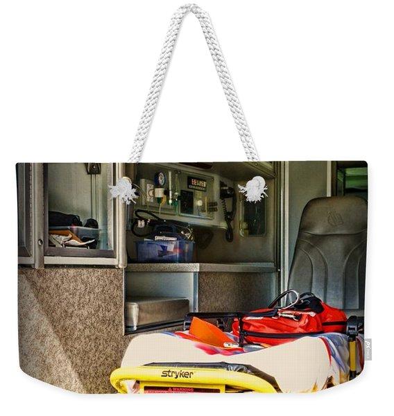 Ambulance - Trip Of A Lifetime  Weekender Tote Bag