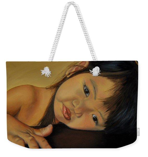 Amelie-an 11 Weekender Tote Bag