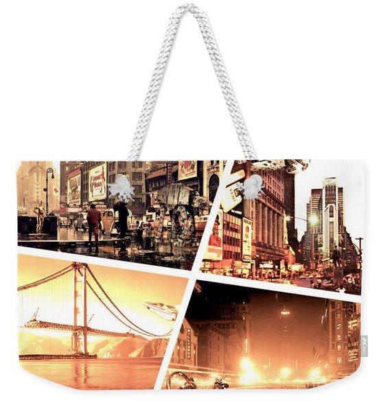 America Reloaded Weekender Tote Bag