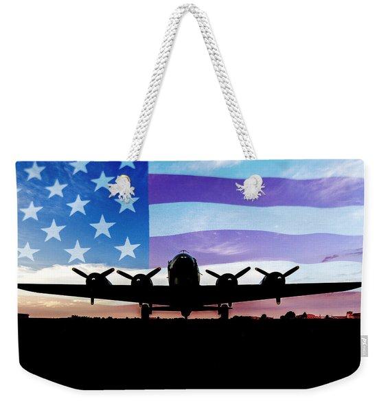 American B-17 Flying Fortress Weekender Tote Bag